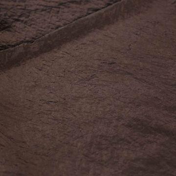 7363м Мятая ткань цв. молочного шоколада (68%вискоза 32% п/амид). Италия