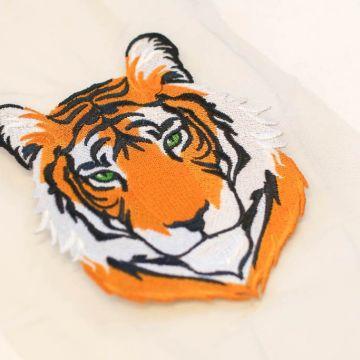 б0087 Тигр барокко. Вышивка.