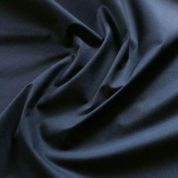 ф5740 Темно-синий сатин стрейч (97%хлопок 3%эластан)