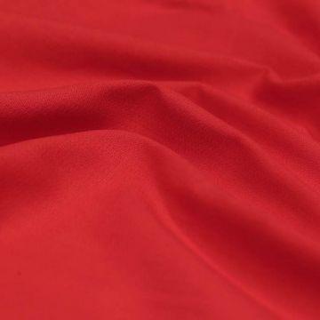 """ТД0014 РЕТРО-ТКАНИ ИЗ СССР. Однотонный красный """"креп"""" (100% хлопок)."""