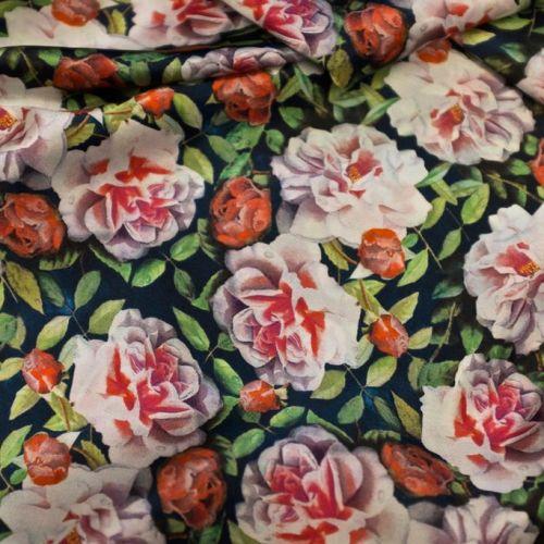 ф3796 Розы в чернилах каракатицы Атлас