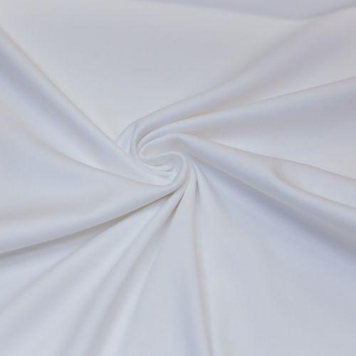 ф5895 Белый трикотаж средней плотности (100% хлопок). Италия.