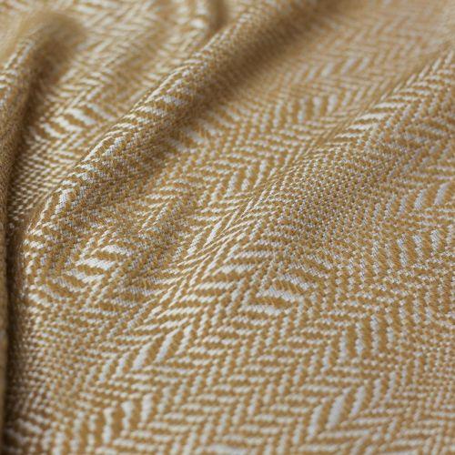 ф5436 Bottega Veneta. Песочно-платиновый твид - елочка (70%шерсть 30%п/акрил).