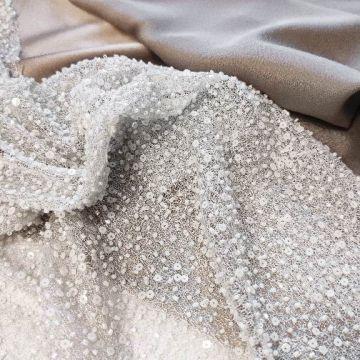 ф3503 Сплошная вышивка бисером Перламутр (100% п/амид)