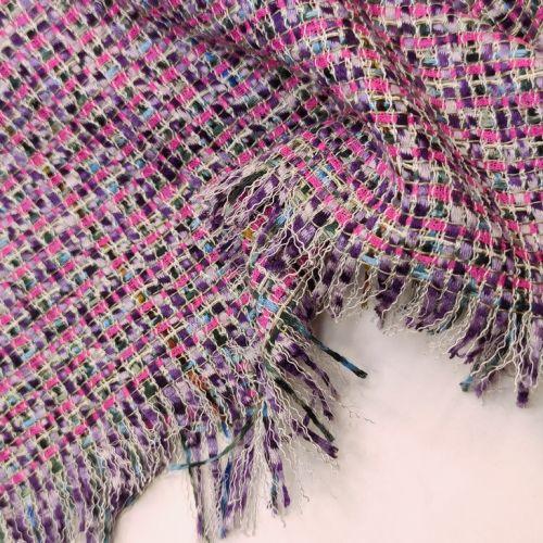 ф3143 Цикламеново-фиолетовая рогожка