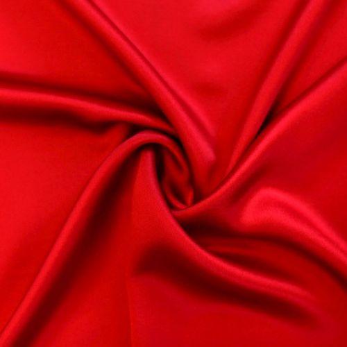0639 Красный сатен (100% шелк), Италия