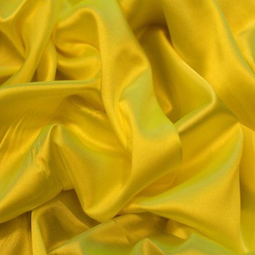 ф1771 Люминисцентно-желтый атлас стрейч