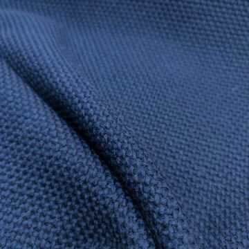 ф5724 Loro Piana. Темно-синяя рогожка (100% шерсть)