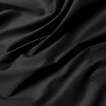 ф5601 Черный ситец стрейч (97%хлопок 3%эластан)