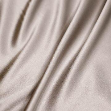 ф4815 Атлас Серый жемчуг (97% шелк 3% эластан). Италия.