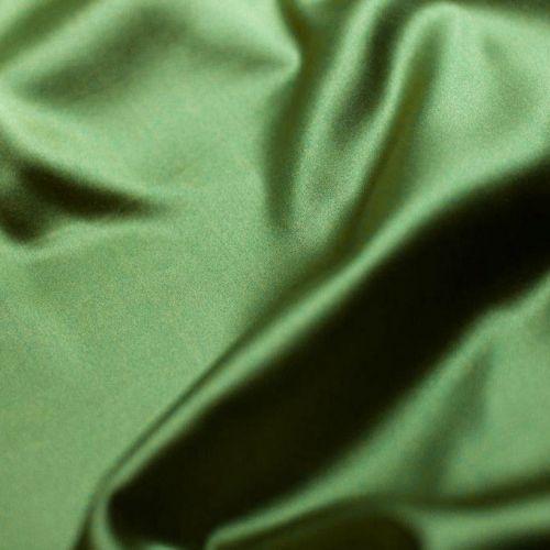 ф4703 Атлас стрейч Изумруд (97% шелк 3% эластан). Италия.