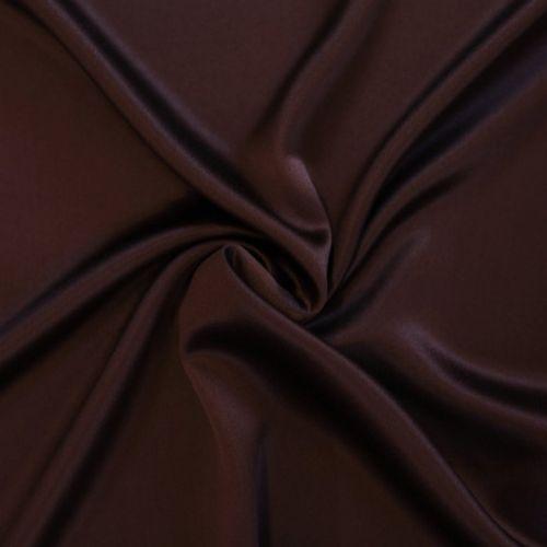 0751 Сатен темно коричневый