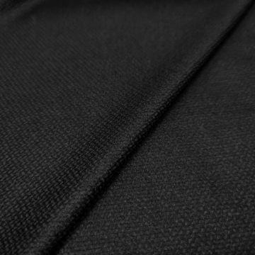 ф4380 Гладкая черная рогожка