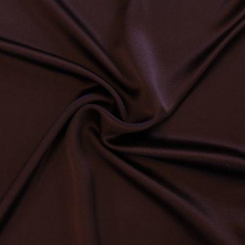 7298 Бордово коричневый сатен