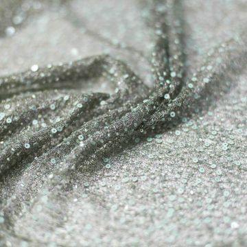 ф4638 Сплошная вышивка бисером мистически-зеленого цвета.