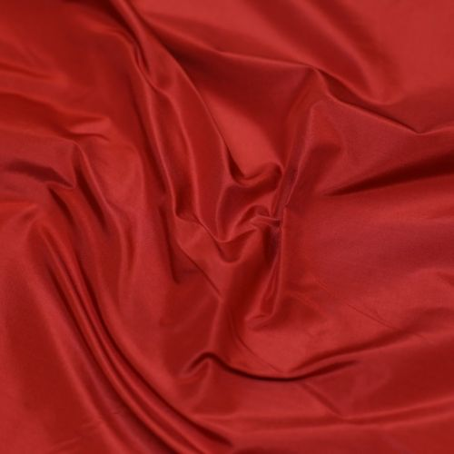 ф5873 Красная тафта (100% шелк). Италия.