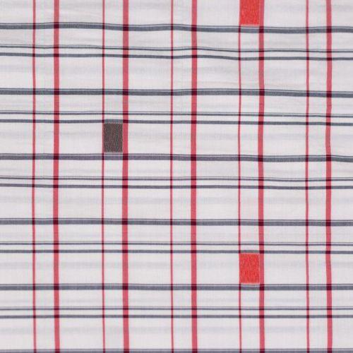 ф4888 Etro. Клеточка с веселыми квадратиками (100% хлопок). Италия.