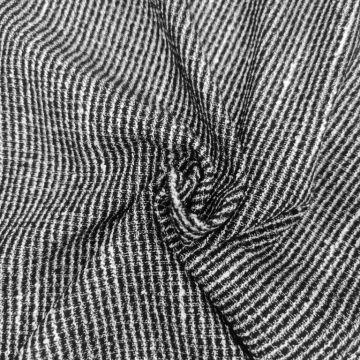 ф4004 Черно-белая рогожка