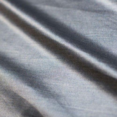ф4685 Loro Piana. Серебристо-синий двусторонний бархат (97% виск 3% эластан). Италия.