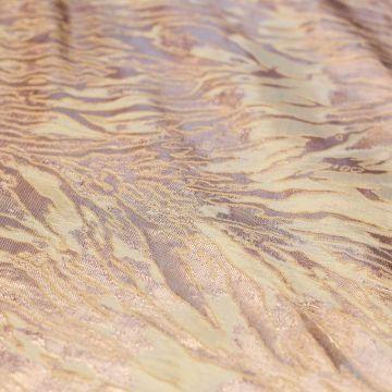 8361 Жаккард Золотые брызги (50% шелк 50% п/эстер).