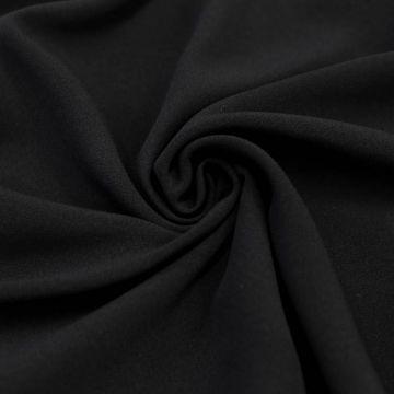 ф5241 Ferragamo. Черный кади (70%виск 20%шелк 10%ацетат).
