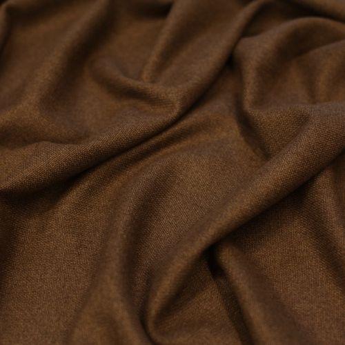 ф4290 Zegna. Двусторонняя коричневая ткань