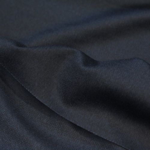 ф4291 Zegna Двусторонний сине-черный твид