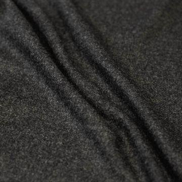 ф5434. Темно-серая меланжевая диагональ (45%шерсть 52%кашемир 3%эластан).