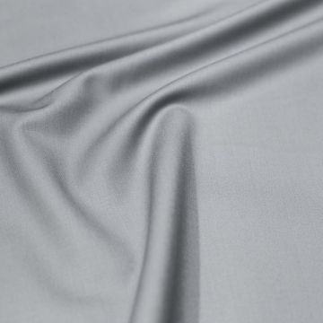 ф5004 Светло-серая ткань Eхclusive Creation Double Face (97% шерсть 3% эластан).