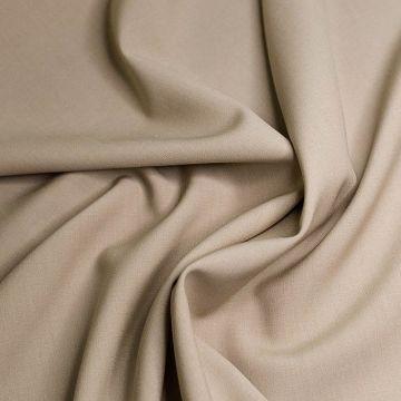 ф4848 Светло-бежевая костюмная ткань (100% шерсть). Италия.