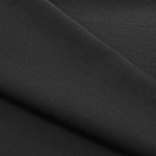 ф2501 Маслянистый черный габардин