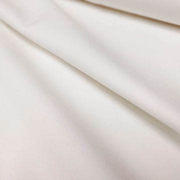 ф3711 Белая костюмная ткань Exclusive Creation Double face (97% шерсть 3% эластан).
