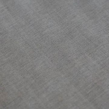ф5743 Trabaldo Togna. Серая ткань с фактурной полосой (100% шерсть)