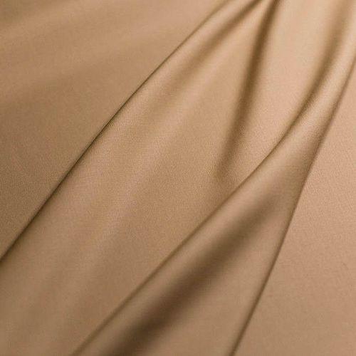 ф4905 Guabello. Песочная костюмная ткань стрейч (98% шерсть 2% эластан ). Италия.