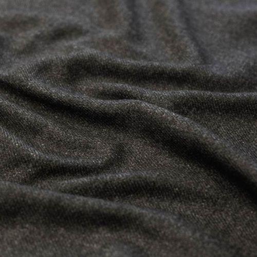 ф5498 Пушистая серая диагональ. (45%кашемир 55%шерсть).
