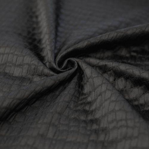 ф5478 Armani. Элегантный черный крокодил (96%вискоза 4%эластан).