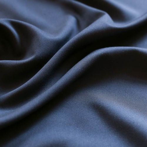 ф5693 Versace. Темно-синяя ткань благородной пластичности (55%хлопок 45%шелк)