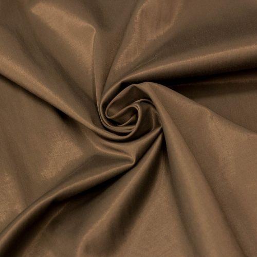5866 Блестящая оливковая ткань с лиловой оборотной (56% вискоза, 35% хлопок, 9% метал.нить). Италия