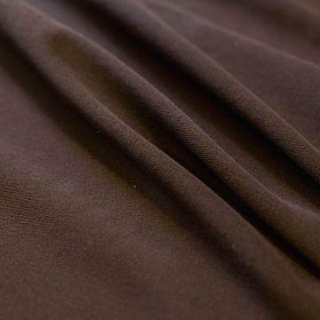 ф5450 Cerruti. Темно-коричневая зернистая ткань стрейч (98%шерсть 2%эластан).