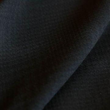 ф5746 Dior. Черная фактурная клетка (100%шерсть)