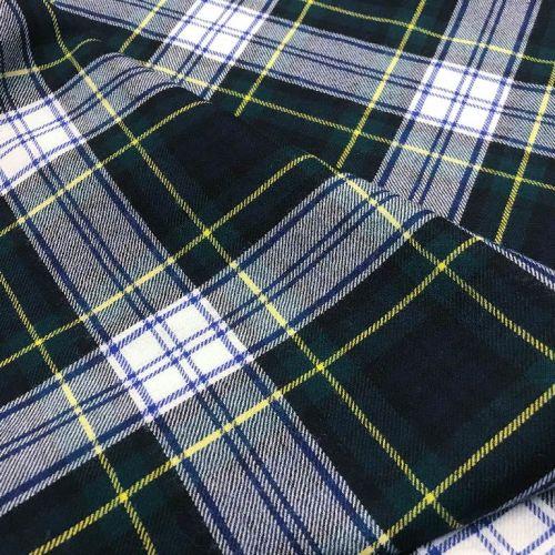 5165 Сине-белая шотландка