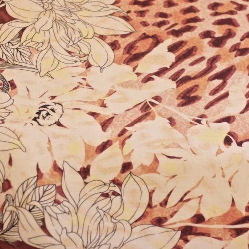 ф3484 Рыжий тигр и белые лилии Купон