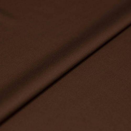 ф5012 Шоколадная ткань Eхclusive Creation Double Face (97% шерсть 3% эластан).