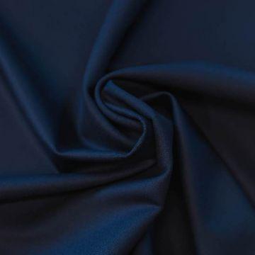 ф5823 Темно-синяя ткань Eхclusive Creation Double Face (97%шерсть 3%эластан). Италия.