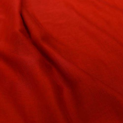 ф5045 Ярко красная пашмина. (20% кашемир 80% хлопок).