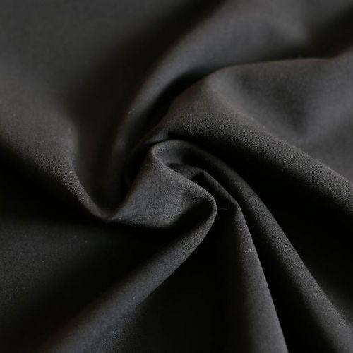 ф5584 G.Valli. Черная костюмная ткань стрейч (97%шерсть 3%эластан)