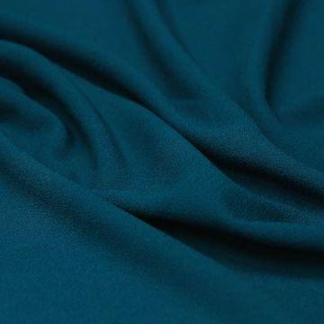 ф4981 Креп Синий изумруд (100% шерсть). Италия.