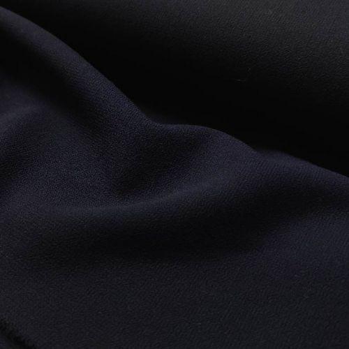 ф4998 Темно-синий дабл креп (100% шерсть).