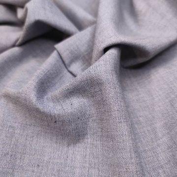 ф4910 Guabello. Серо-голубой креп (60% шерсть 40% шелк ). Италия.