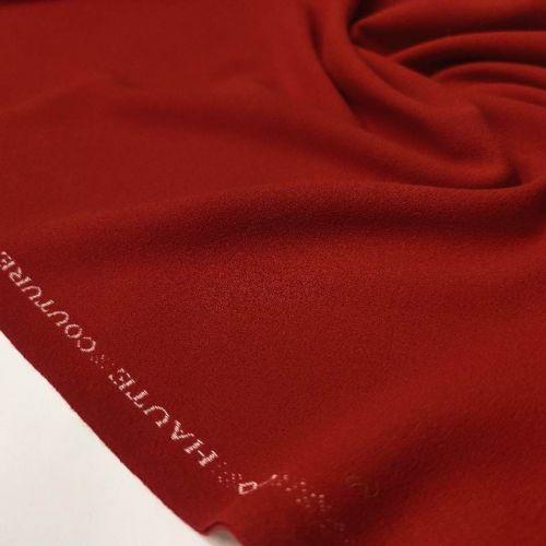 ф5002 Темно-красный креп (100% шерсть).